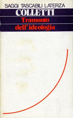 Tramonto dell'ideologia