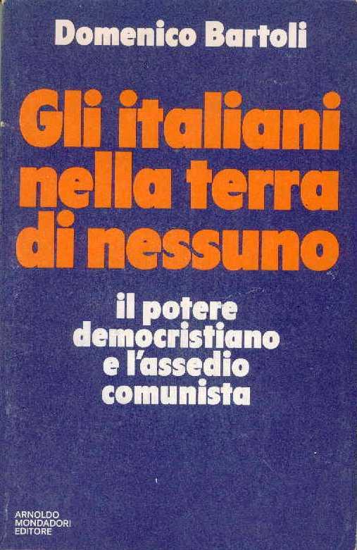 Gli italiani nella terra di nessuno