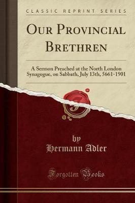 Our Provincial Brethren