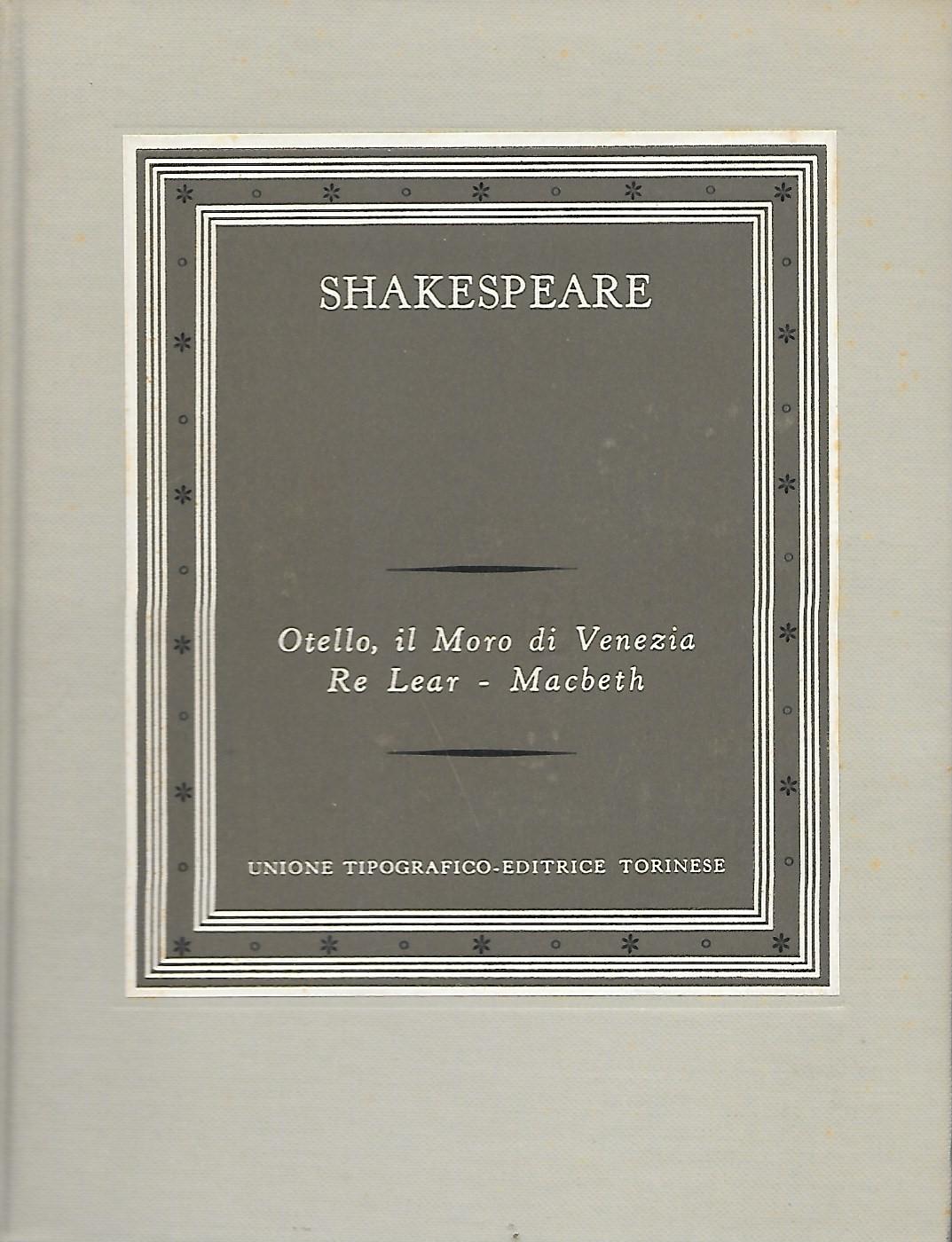 Otello, il moro di V...