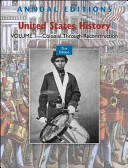 Annual Editions: United States History: Colonial Through Reconstruction Volume 1