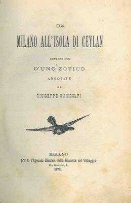 Da Milano all'isola ...