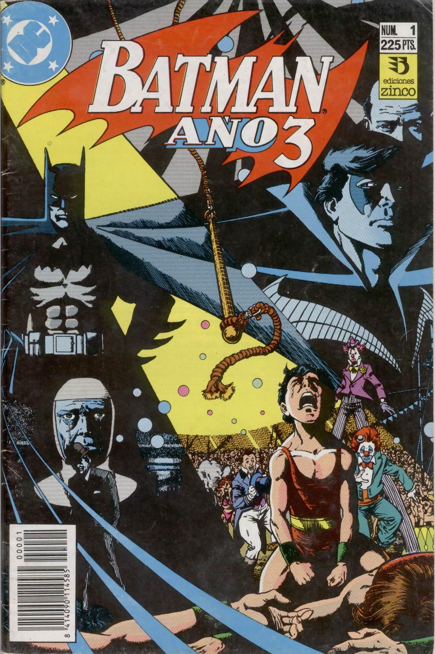 Batman: Año Tres #1