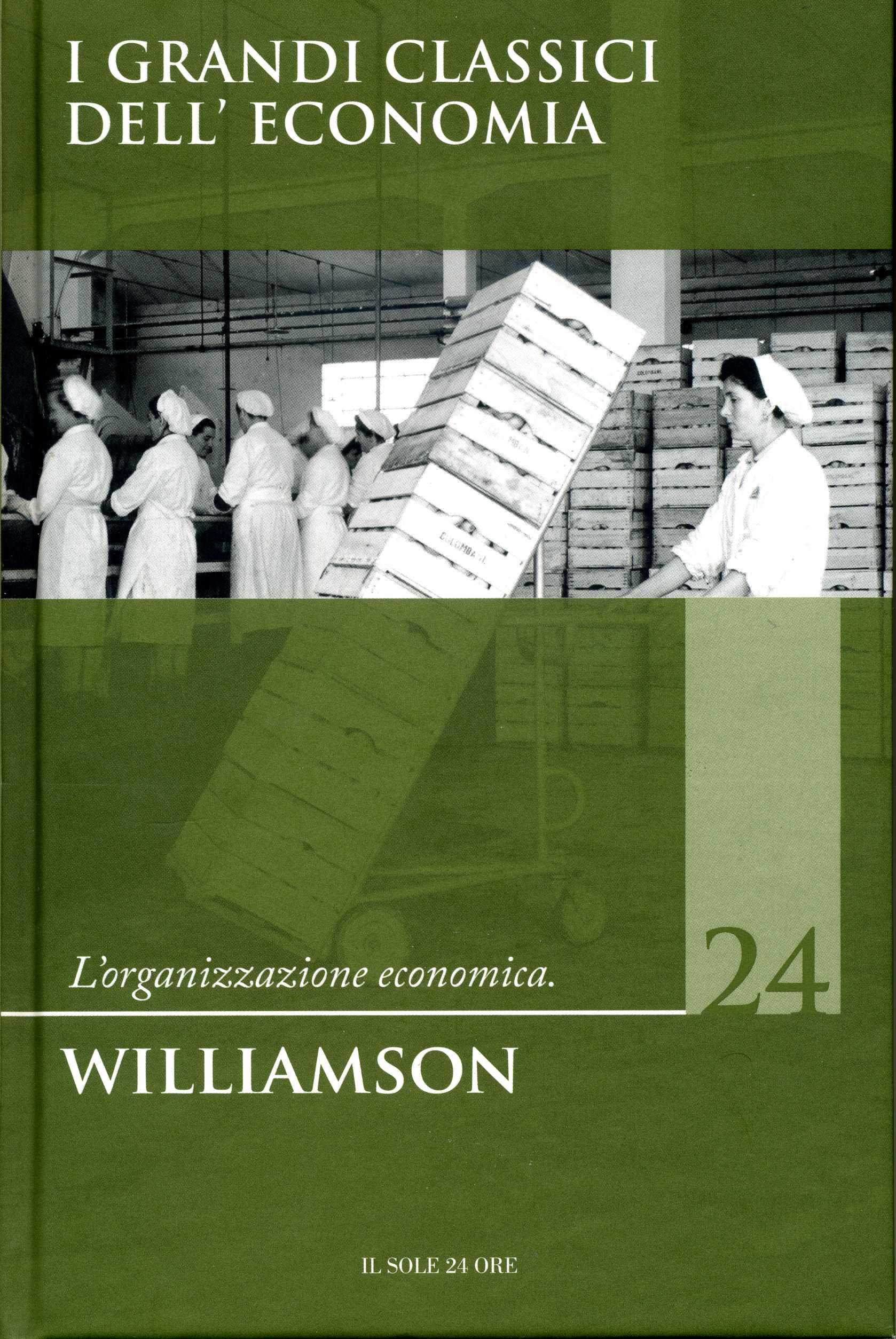 L'organizzazione economica