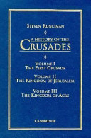 A History of the Crusades 3 Volume Set (Paperback)