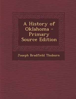 A History of Oklahoma
