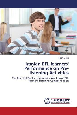 Iranian EFL learners' Performance on Pre-listening Activities