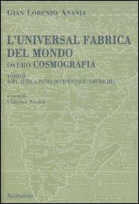 L'universal fabrica del mondo, overo cosmografia