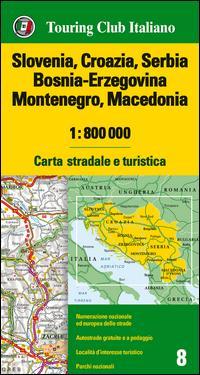 Slovenia, Croazia, Serbia, Bosnia Erzegovina, Montenegro, Macedonia 1
