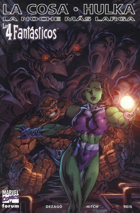 Los 4 Fantásticos: La Cosa / Hulka