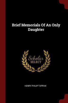 Brief Memorials of a...