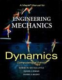 A Maple Manual for Engineering Mechanics