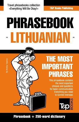 English-Lithuanian phrasebook & 250-word mini dictionary
