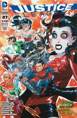 Justice League n. 37 - Variant Harley Quinn