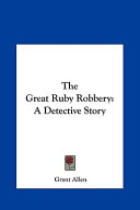 The Great Ruby Robbery