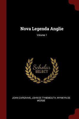 Nova Legenda Anglie; Volume 1