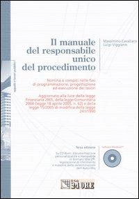 Il manuale del responsabile unico del procedimento