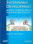 Sustainable Development: Social policy
