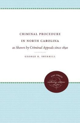 Criminal Procedure in North Carolina