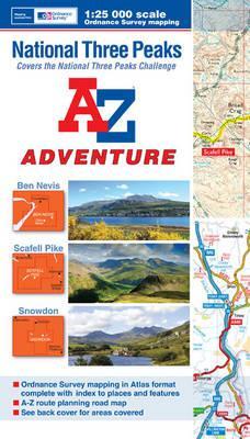 National Three Peaks Adventure Atlas (A-Z Adventure)