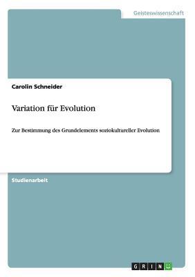 Variation für Evolution