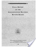 Final Report of the Kennedy Assassination Records Review Board