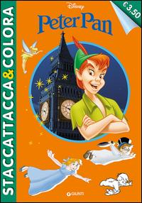 Peter Pan. Staccattacca e colora. Con adesivi. Ediz. illustrata