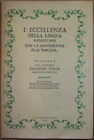L' eccellenza della lingua napoletana con la maggioranza alla Toscana