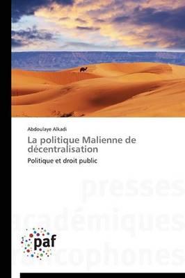 La Politique Malienne de Décentralisation