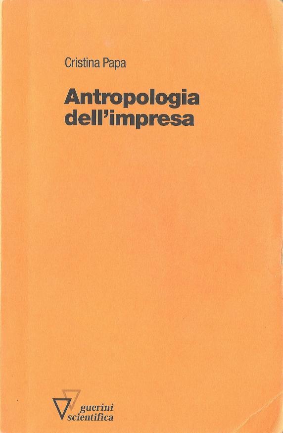 Antropologia dell'impresa