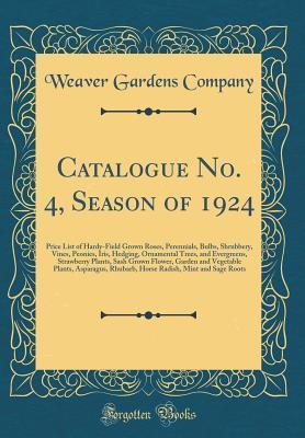 Catalogue No. 4, Season of 1924