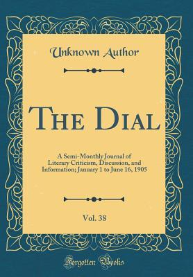 The Dial, Vol. 38