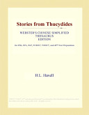 Stories from Thucydides (Webster's Chinese Simplified Thesaurus Edition)