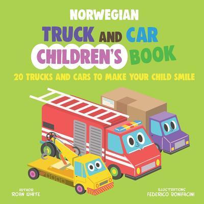 Norwegian Truck and Car Children's Book