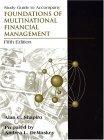 Study Guide to accompany Foundations of Multinational Financial Management, 5th Edition