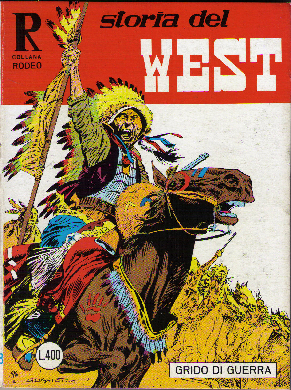 Storia del West n.54 (Collana Rodeo n. 128)