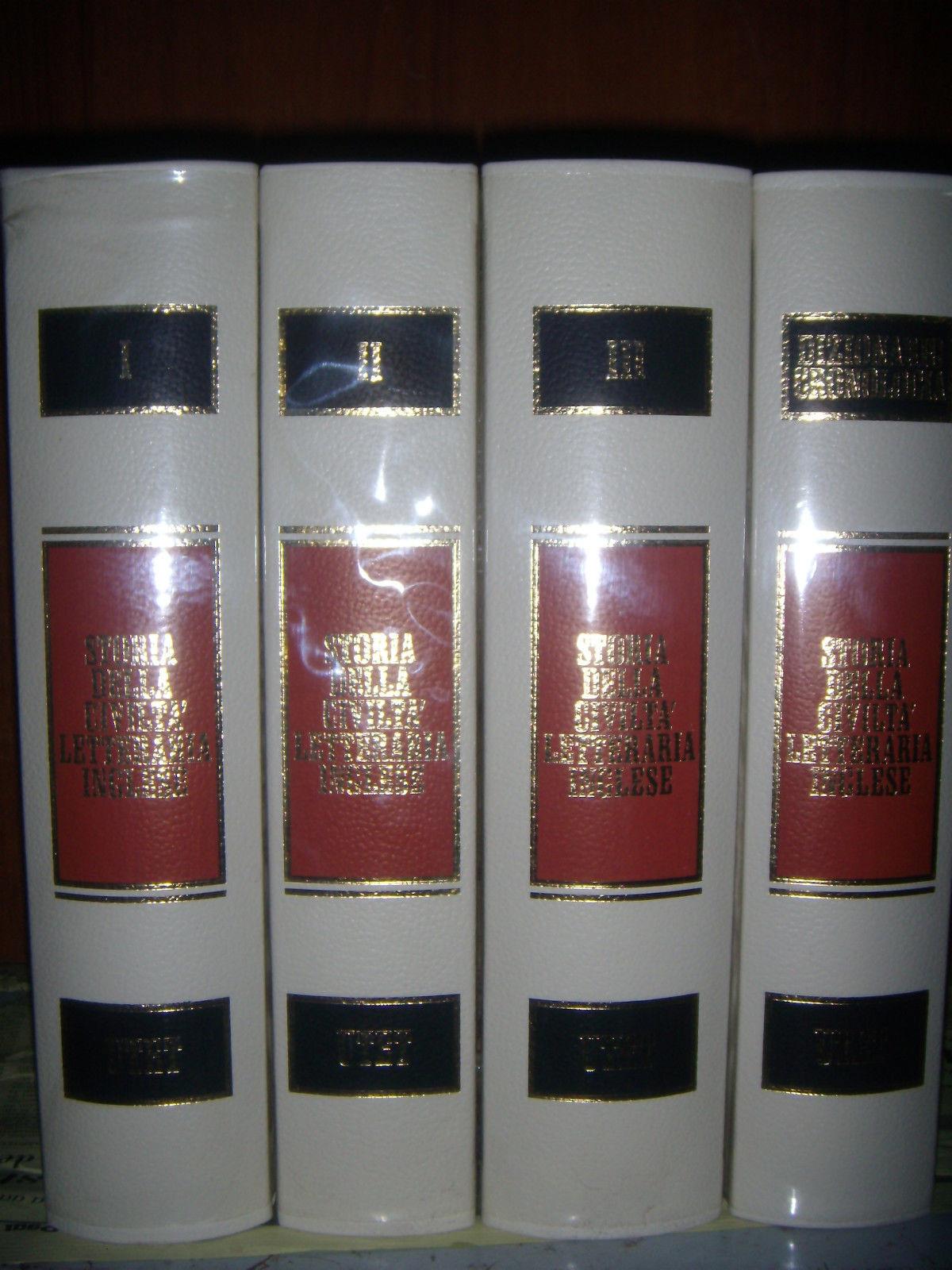 Storia della civiltà letteraria inglese