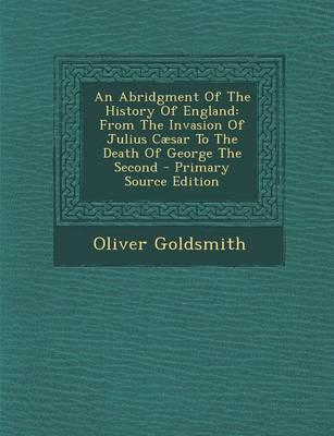 An Abridgment of the History of England