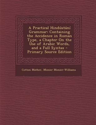 A Practical Hindustani Grammar
