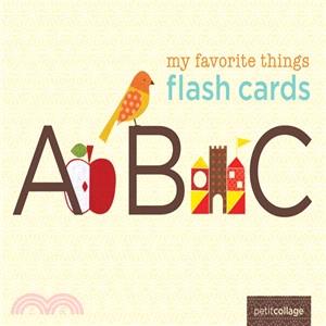 My Favorite Things Flash Cards