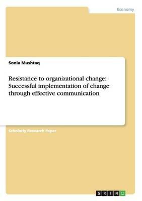 Resistance to organizational change