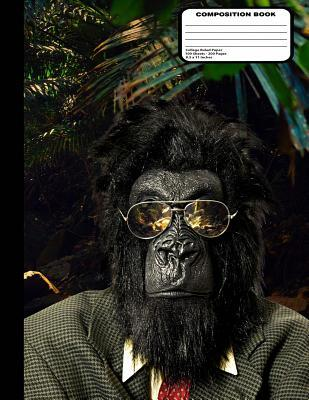 Gorilla in Glasses & Suit