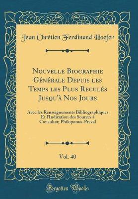 Nouvelle Biographie ...