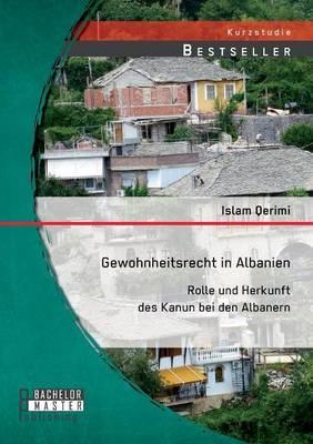 Gewohnheitsrecht in Albanien