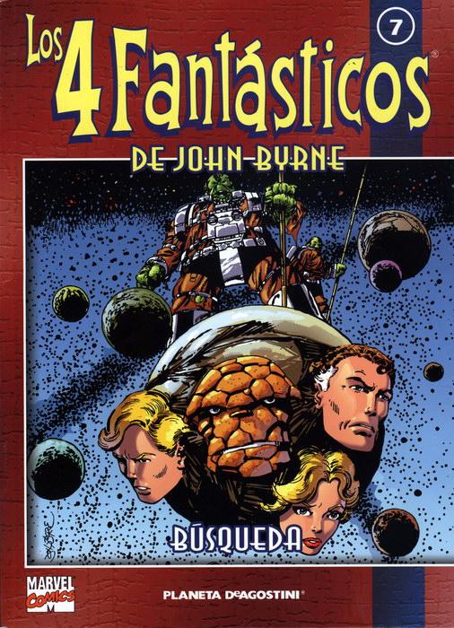 Coleccionable Los 4 Fantásticos de John Byrne #7 (de 25)