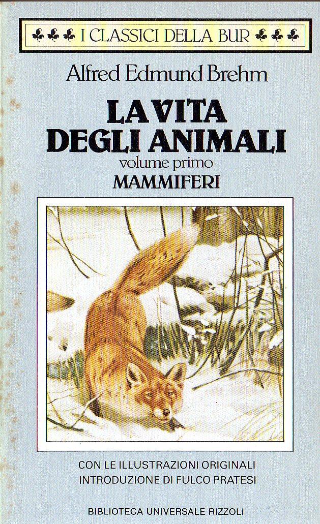 La vita degli animali vol. 1