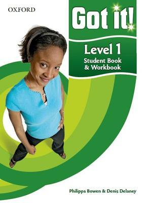 Got it! Level 1 Student's Book and Workbook with CD-ROM