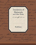 Translations of Shakuntala and Other Works