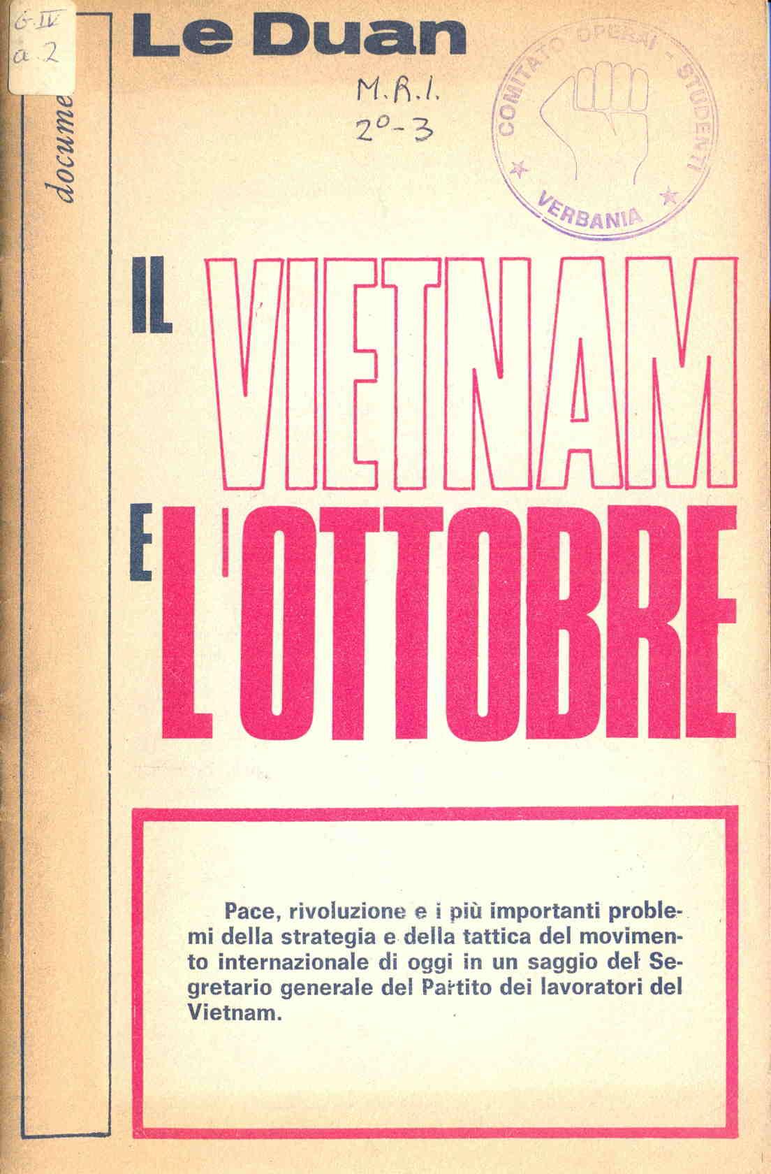 Il Vietnam e l'ottobre