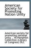 American Society for Promoting Nation Unity